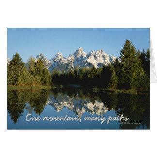 Grand Teton National Park, Teton Range, WY Card