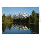 Grand Teton National Park, Teton Range, Wyoming, Card
