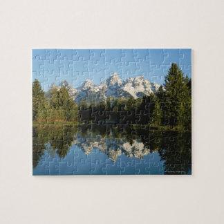 Grand Teton National Park, Teton Range, Wyoming, Jigsaw Puzzle