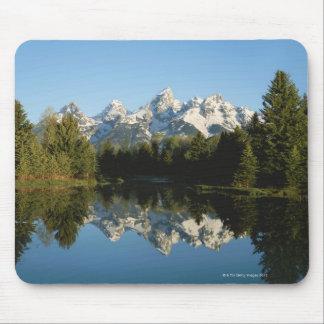 Grand Teton National Park, Teton Range, Wyoming, Mouse Mat