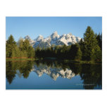 Grand Teton National Park, Teton Range, Wyoming, Postcard