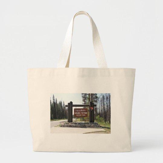 Grand Teton National Park, US National Park, Sign
