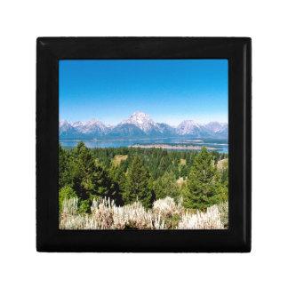 Grand Teton National Park Wyoming Gift Box