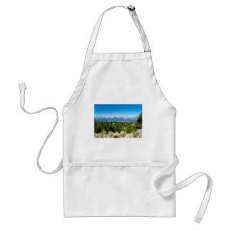 Grand Teton National Park Wyoming Standard Apron