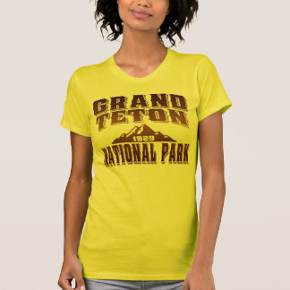 Grand Teton Old Style Tobacco Sunburst T-Shirt