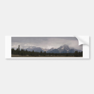 Grand Teton Panorama 1 Bumper Sticker
