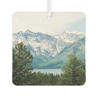 Grand Teton Range Across Jackson Lake