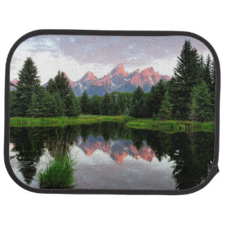 Grand Teton Reflections Over the Beaver Pond Car Mat
