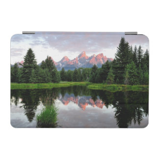 Grand Teton Reflections Over the Beaver Pond iPad Mini Cover