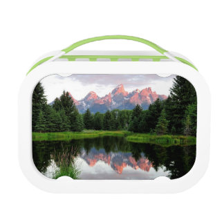 Grand Teton Reflections Over the Beaver Pond Lunchbox