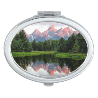 Grand Teton Reflections Over the Beaver Pond Mirror For Makeup