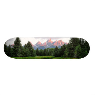 Grand Teton Reflections Over the Beaver Pond Skate Boards