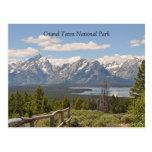 Grand Teton Scenic View Postcard