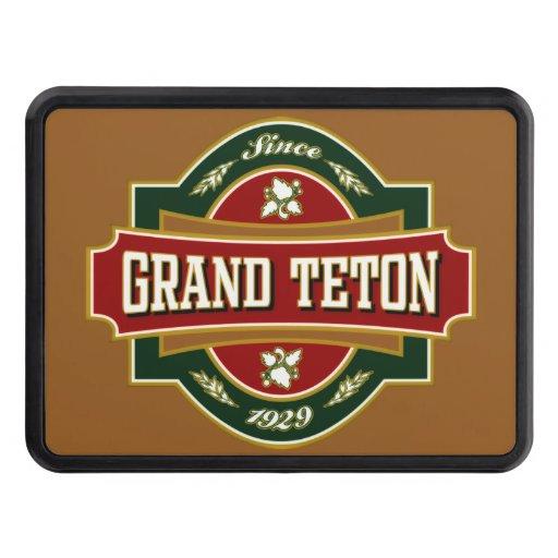 Grand Teton Trailer Hitch Cover
