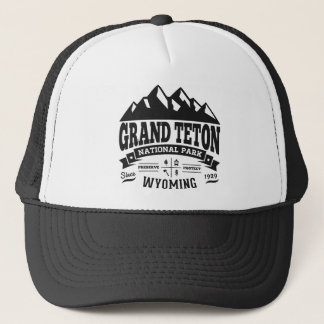 Grand Teton Vintage Trucker Hat