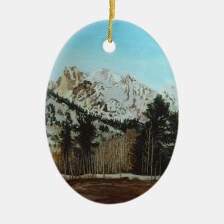 GRAND TETONS CHRISTMAS ORNAMENT