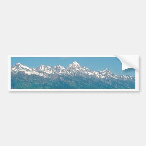 Grand Tetons National Park Bumper Sticker