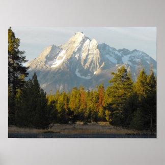 Grand Tetons Wyoming Poster