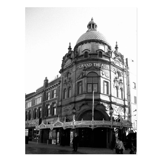 Grand Theatre Blackpool B/W Postcard
