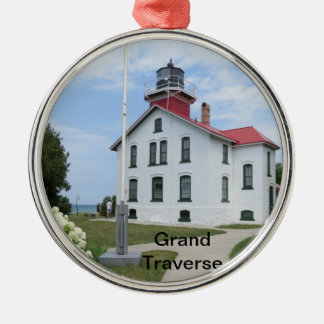 Grand Traverse Lighthouse Christmas Ornament