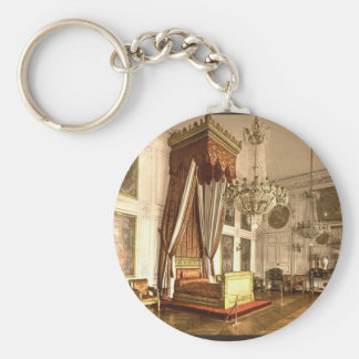 Grand Trianon, chamber of Queen Victoria, Versaill Basic Round Button Key Ring