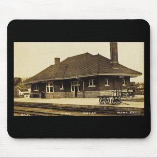 Grand Trunk Depot Pontiac Michigan Mouse Pad