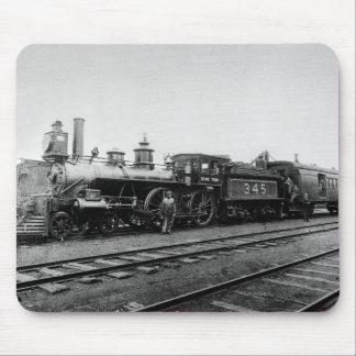 Grand Trunk Locomotive 345 - Vintage Mouse Pad