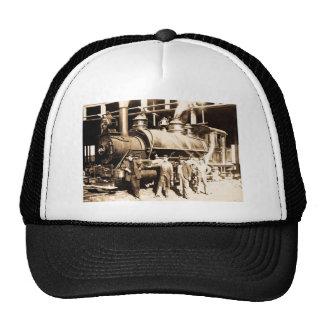 Grand Trunk Railroad Shop & Crew  - Vintage Cap