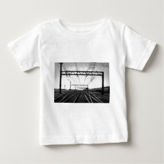 Grand Trunk Railway Yards Vintage Port Huron MI Baby T-Shirt