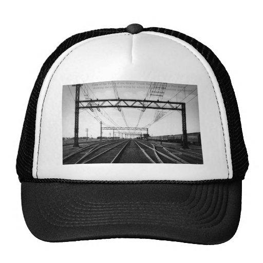 Grand Trunk Railway Yards Vintage Port Huron MI Mesh Hat