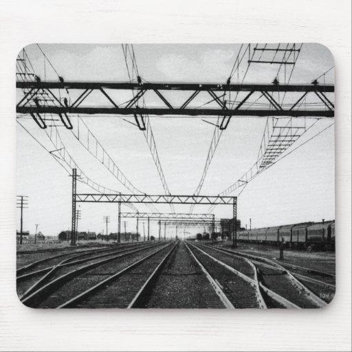 Grand Trunk Railway Yards Vintage Port Huron MI Mousepad
