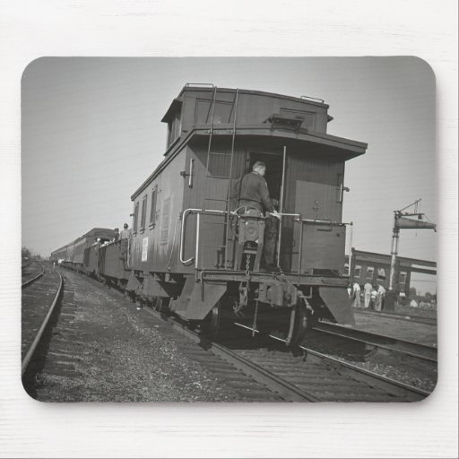Grand Trunk Western Caboose Mouse Pads