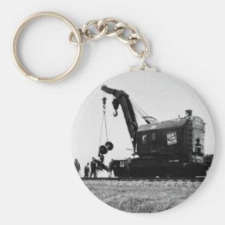 Grand Trunk Western Crane # 50032 Keychains