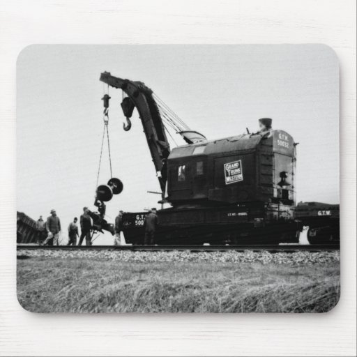 Grand Trunk Western Crane # 50032 Mouse Pad