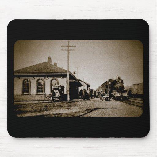 Grand Trunk Western Depot St. Johns MI 1912 Mouse Pad