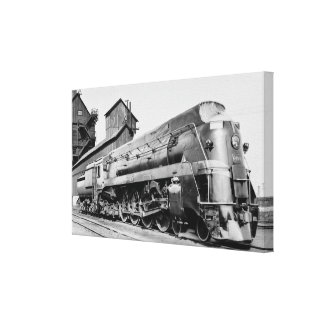 Grand Trunk Western Engine 6405 at Chicago Stretched Canvas Prints
