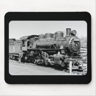 Grand Trunk Western (G.T.W.) steam engine #7524 Mouse Pad