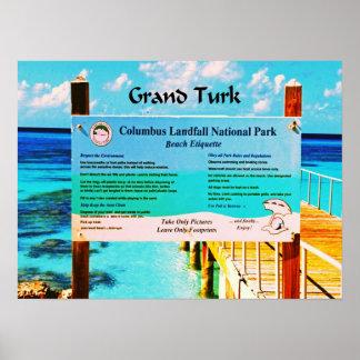 Grand Turk Poster