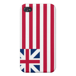 Grand Union Flag Continental Colors Cases For iPhone 4