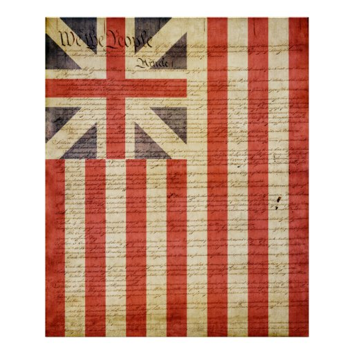 Grand Union Flag Posters