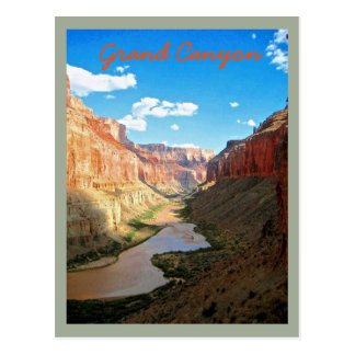 Grand View of the Grand Canyon Postcard