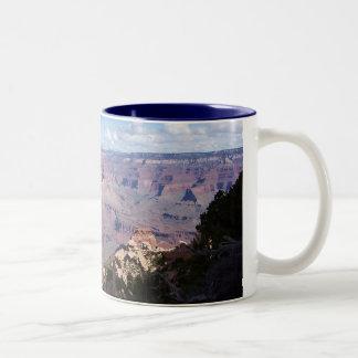 Grand View of the Grand Canyon Two-Tone Coffee Mug