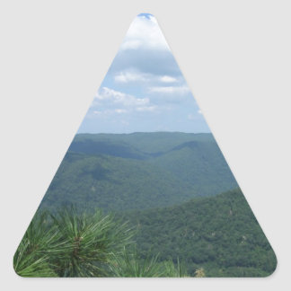 Grand View Triangle Sticker