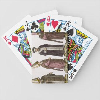 Grand Visir, Caim-Mecam, Reis-Efendi and Khodjakia Bicycle Playing Cards