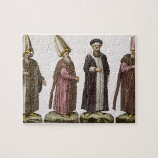Grand Visir, Caim-Mecam, Reis-Efendi and Khodjakia Puzzles