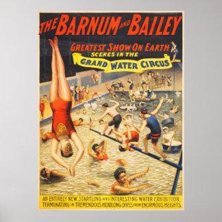 Grand Water Circus Poster