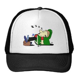 GRANDAD SLEEPS.tif Trucker Hats