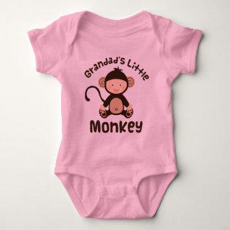 Grandads Little Monkey Baby Bodysuit