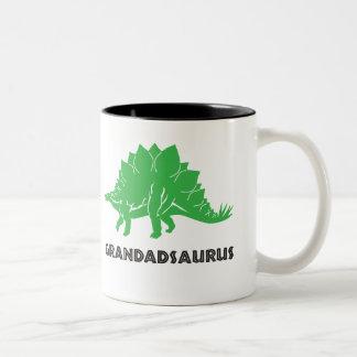 Grandadsaurus STEGOSAURUS dinosaur mug cup