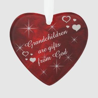 Grandchildren are Gifts Ornament